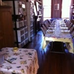 Before the company arrives, Thanksgiving table, 2012.