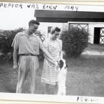 Harold and Ann, and their dog Pepper.