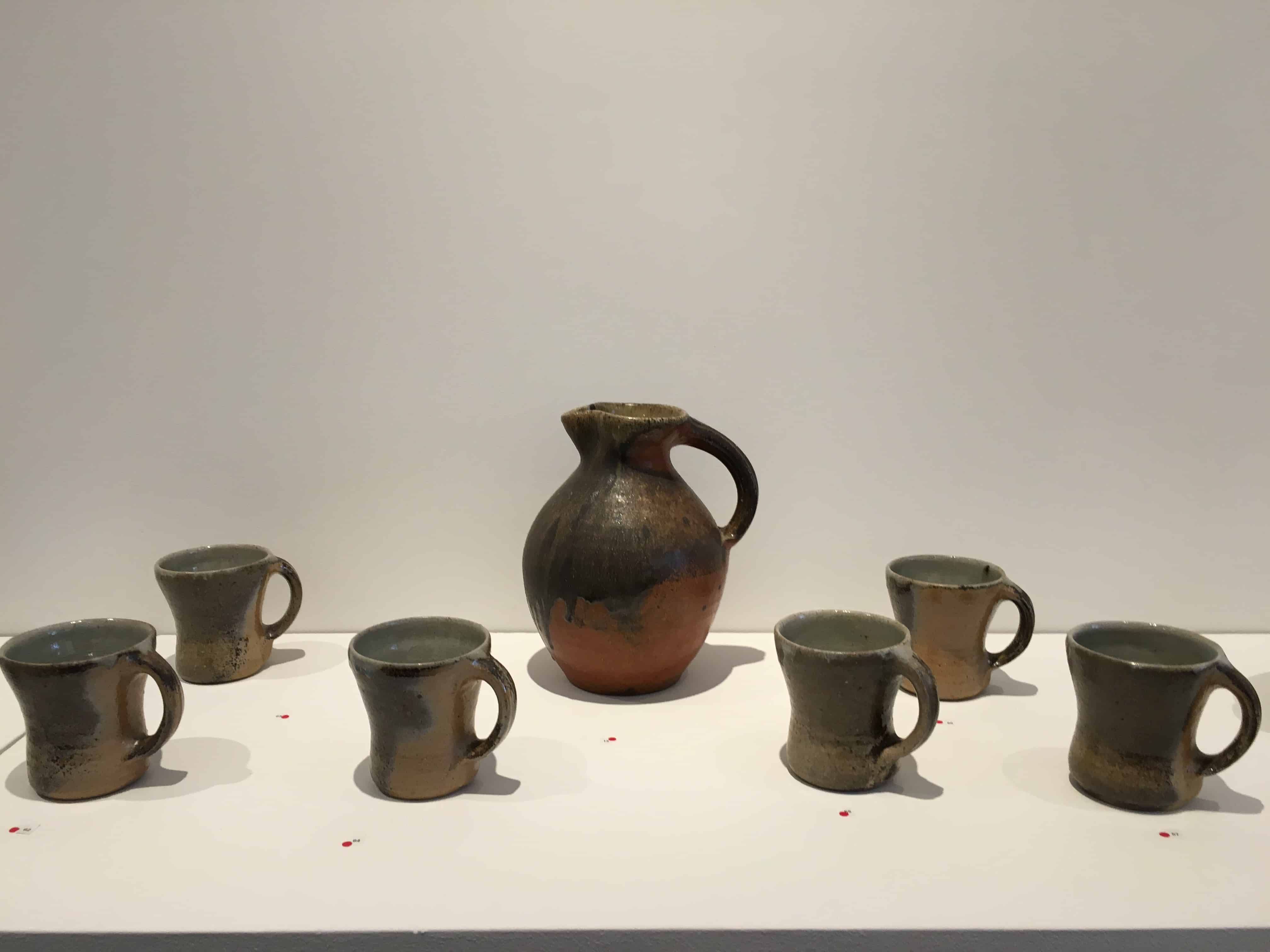 Cups and a pitcher by Svend Bayer.