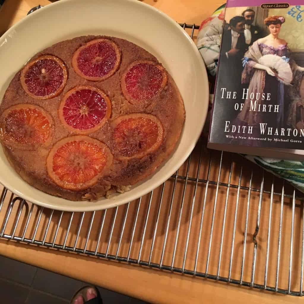Almond Ricotta Cake, for Bookclub.