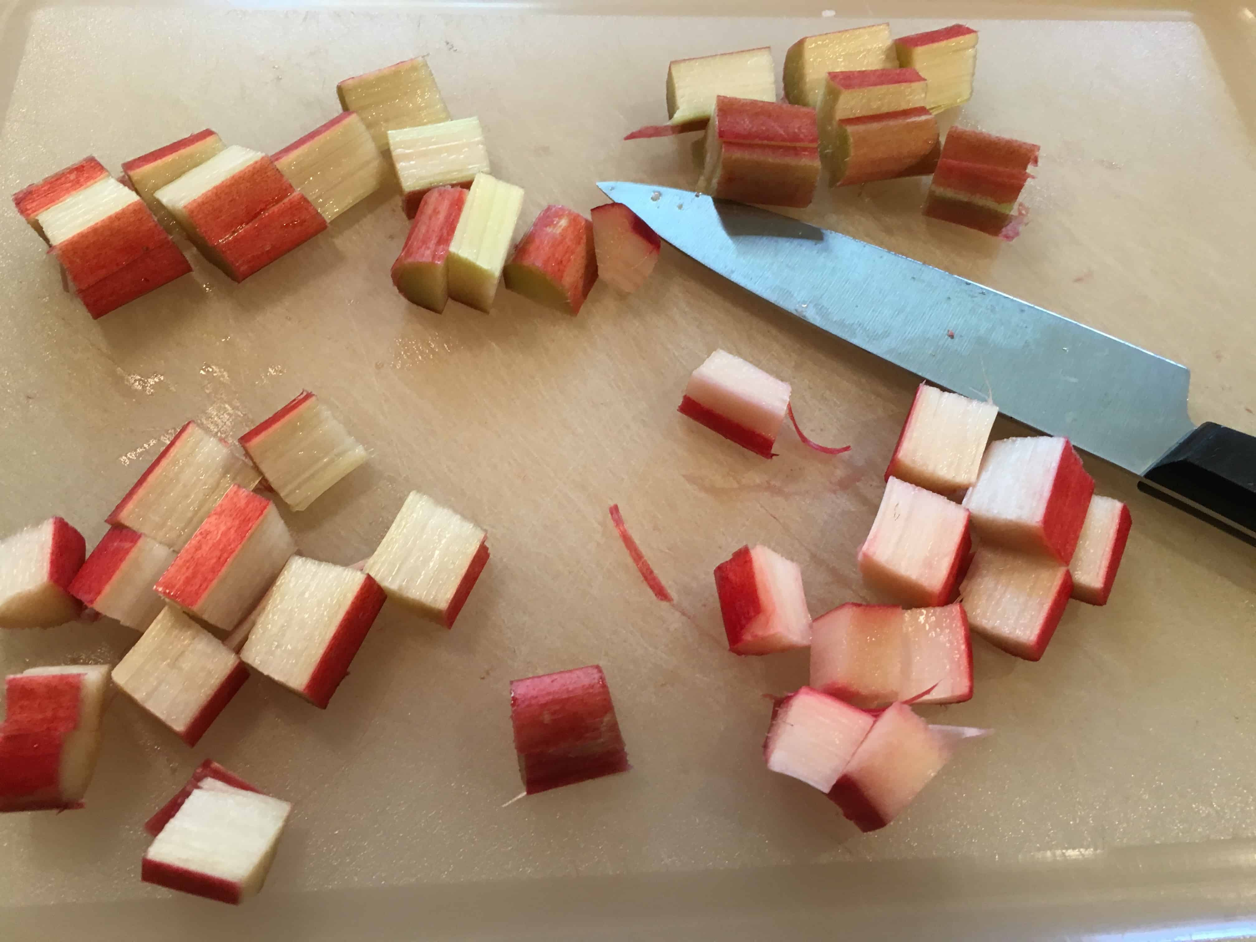 Rhubarb may also be used in tarts, crisps, and jams.