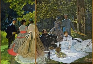 To me, having a garden feels like living within this painting by Claude Monet, Dejeuner Sur L'herbe.