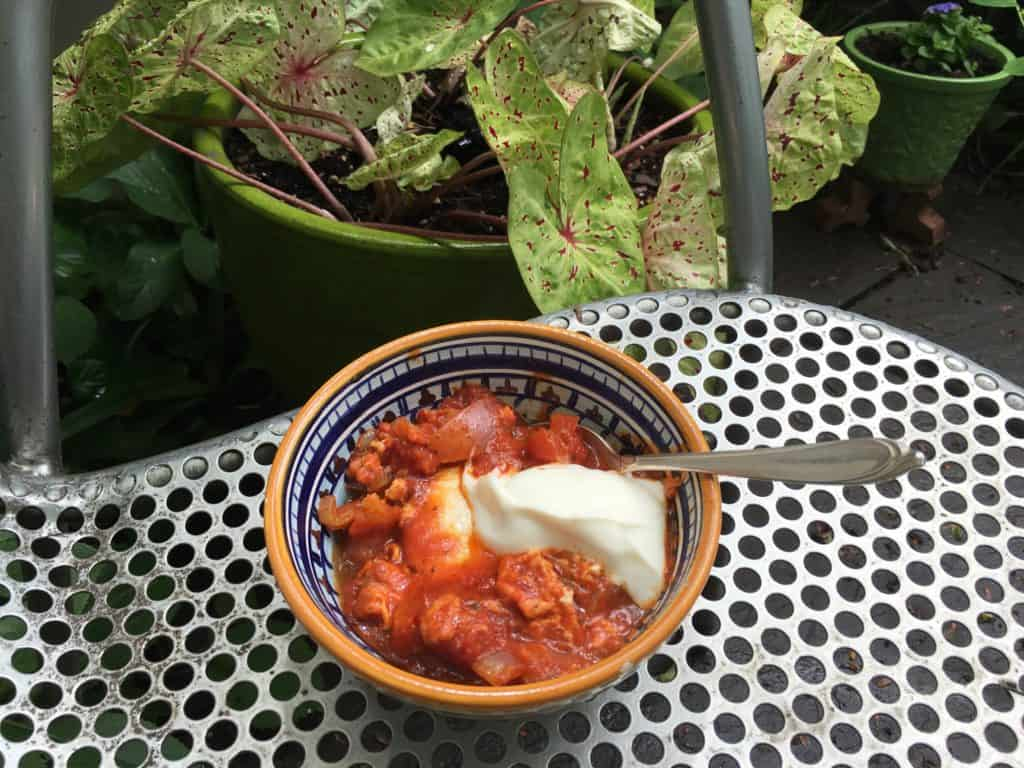Shakshuka for a hearty breakfast!