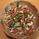 Greek Tomato Salad for a Summer's Supper
