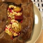 Roasted Beet Galette with Ricotta